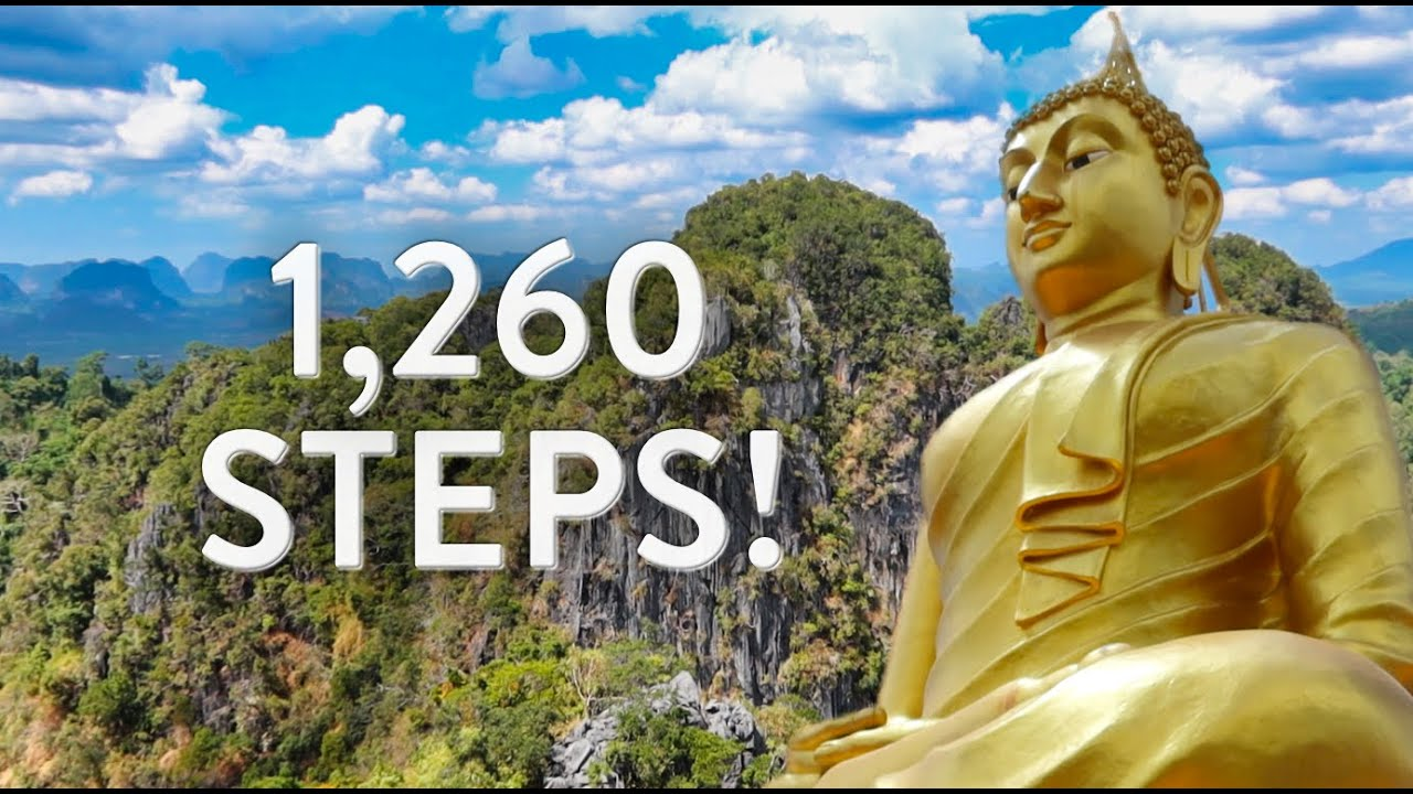 How To Visit Tiger Cave Temple in Krabi / South East Asia On A Budget / Day 14 of 31