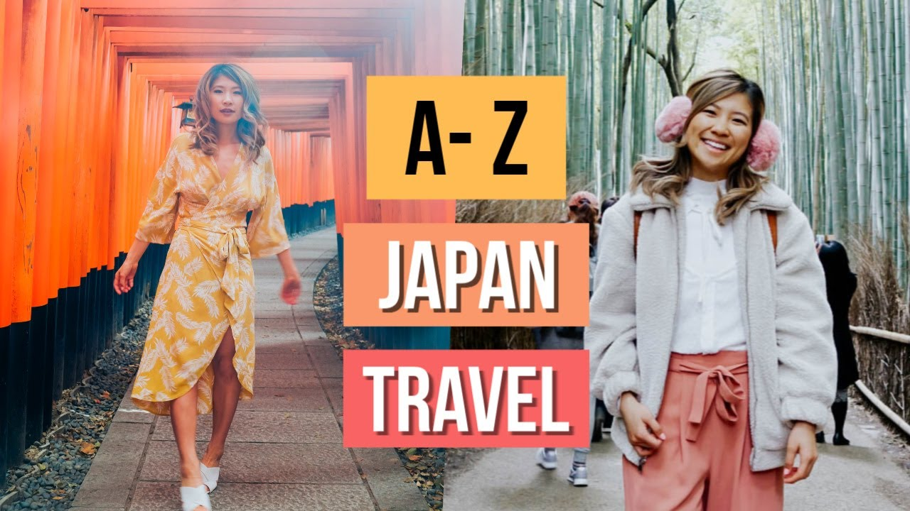 JAPAN TRAVEL Guide for first-timers! Travel Budget Tips