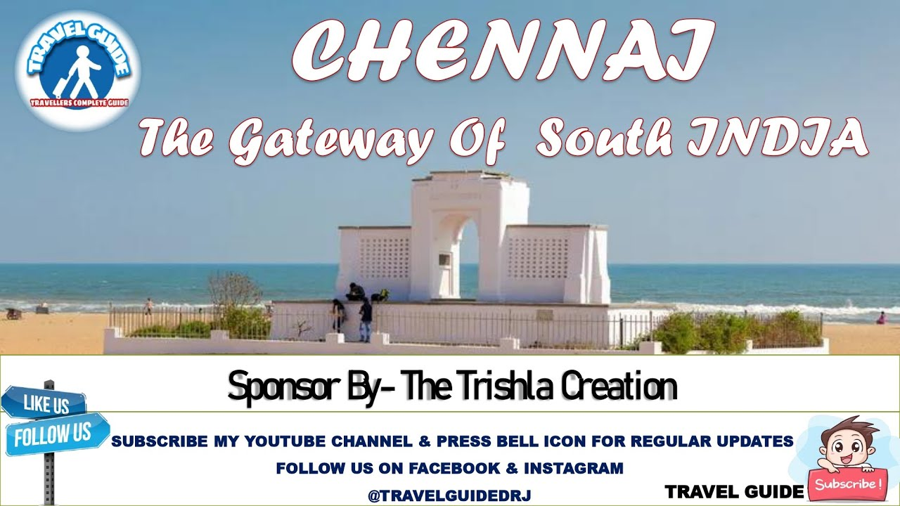 Madras Vlog | Gateway Of South INDIA Know With Your Travel Guide Dhruv R. Jain | Chennai Vlog