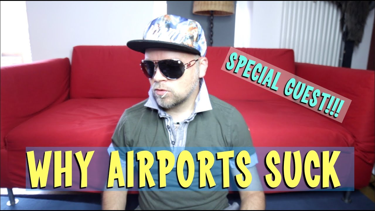 5 Things that SUCK About Airports - Dino Cicerolli