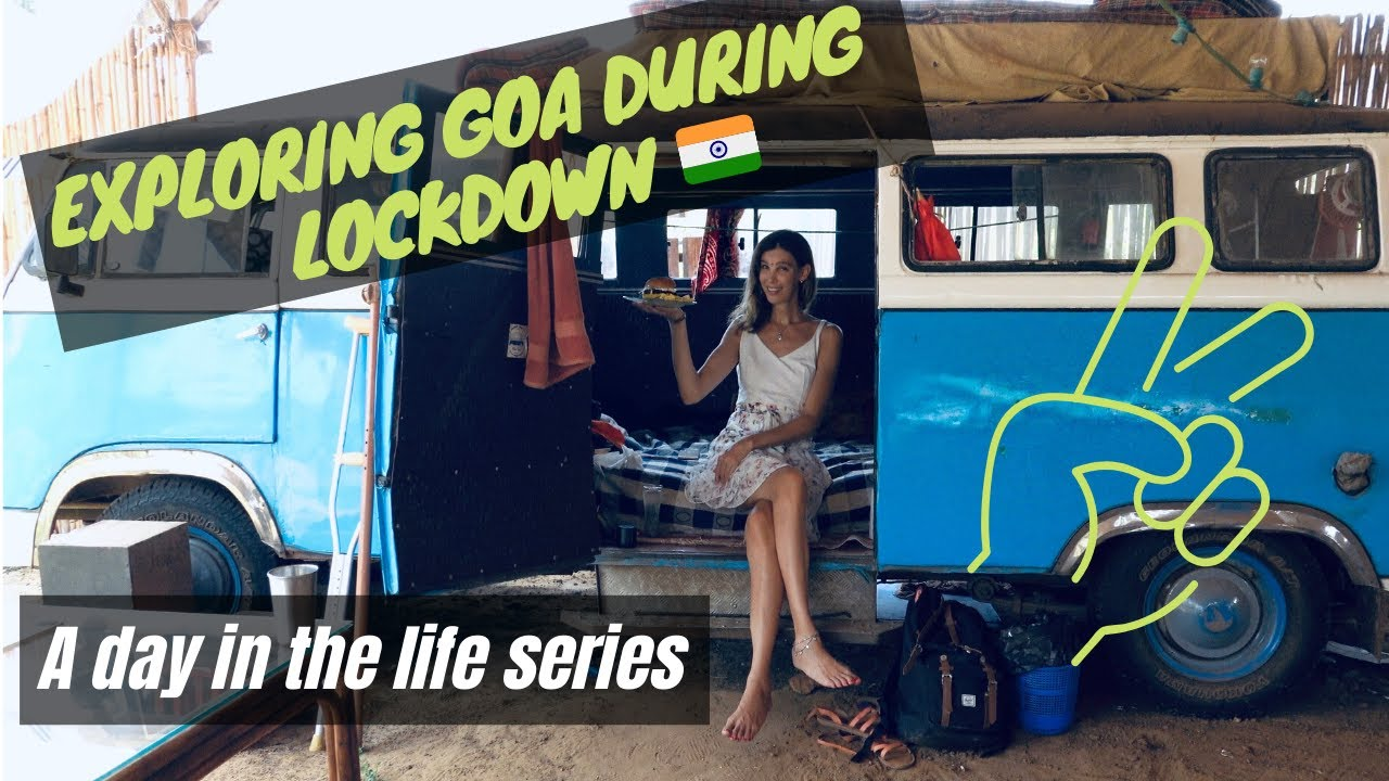 Exploring Goa, INDIA during Lockdown I The Story of the Traveling Blue Bus