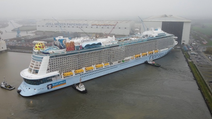 Odyssey of the Seas floats out in Germany ahead of 2021 debut | News