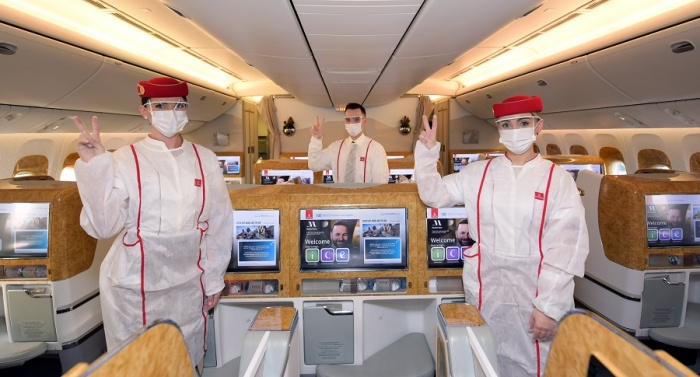 Emirates operates first fully-vaccinated flight | News