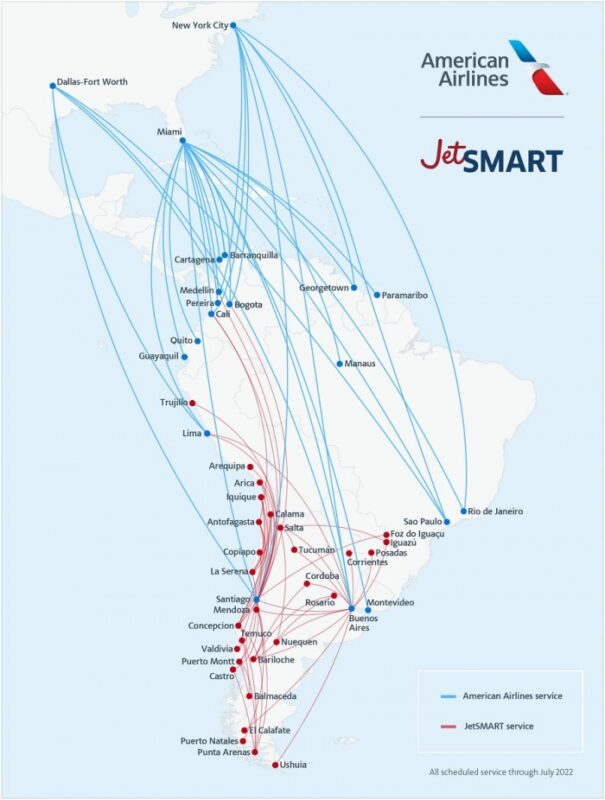 American Airlines to take stake in JetSmart | News
